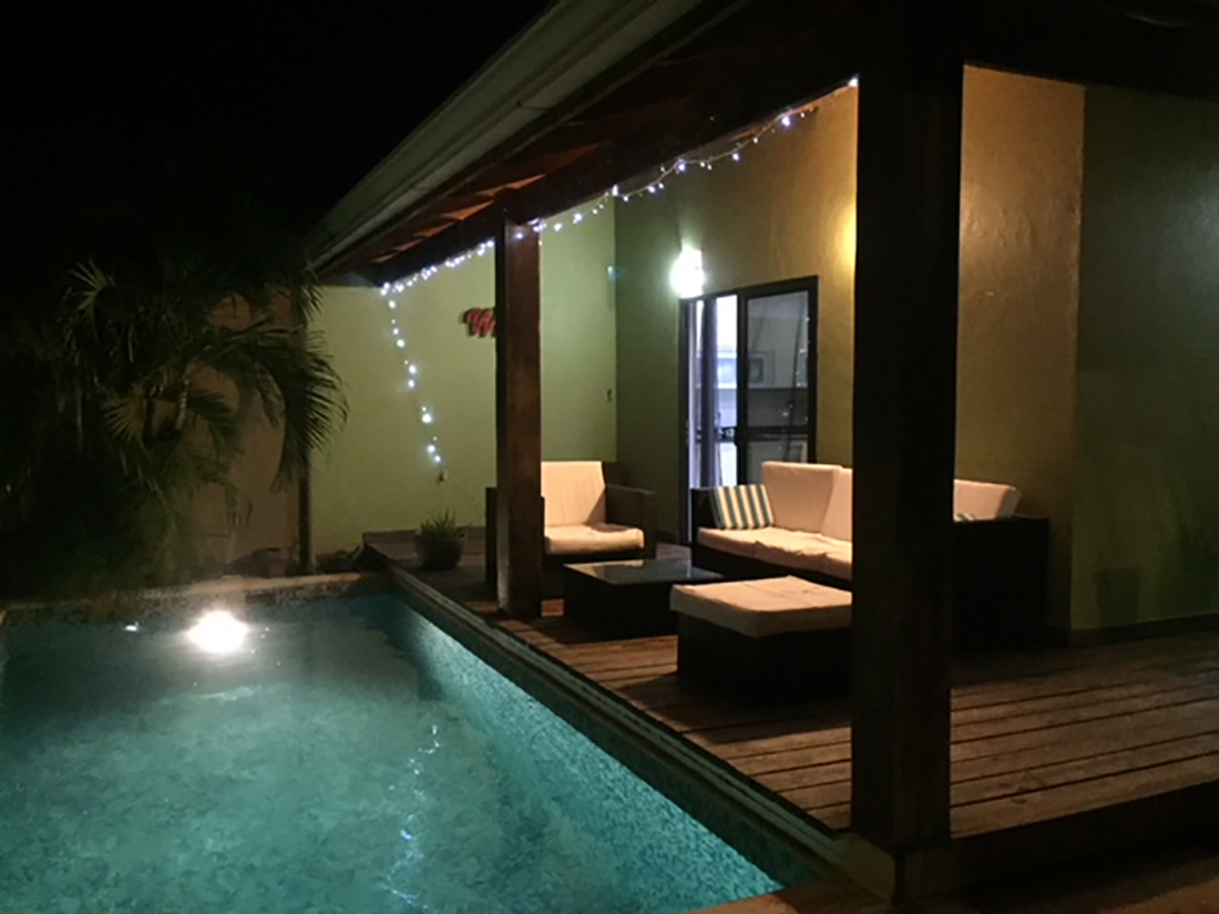 Pool and Patio areas
